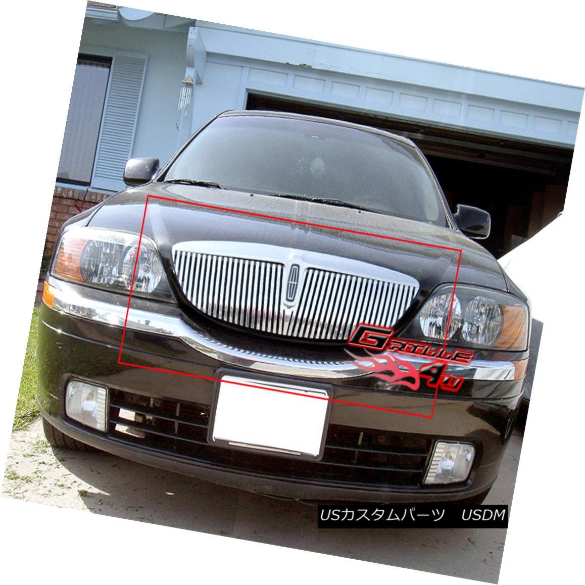 グリル Fits 2000-2002 Lincoln LS Perimeter Grille Insert 2000-2002 Lincoln LSペリメーターグリルインサートに適合