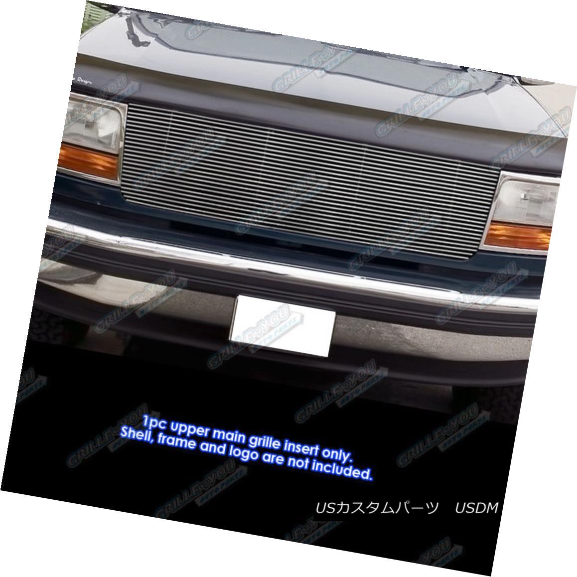 グリル For 92-96 Ford Bronco/F150/F250/F350 Black High Density Billet Grille Grill 92-96フォードブロンコ/ F150 / F2用50 / F350ブラック高密度ビレットグリルグリル
