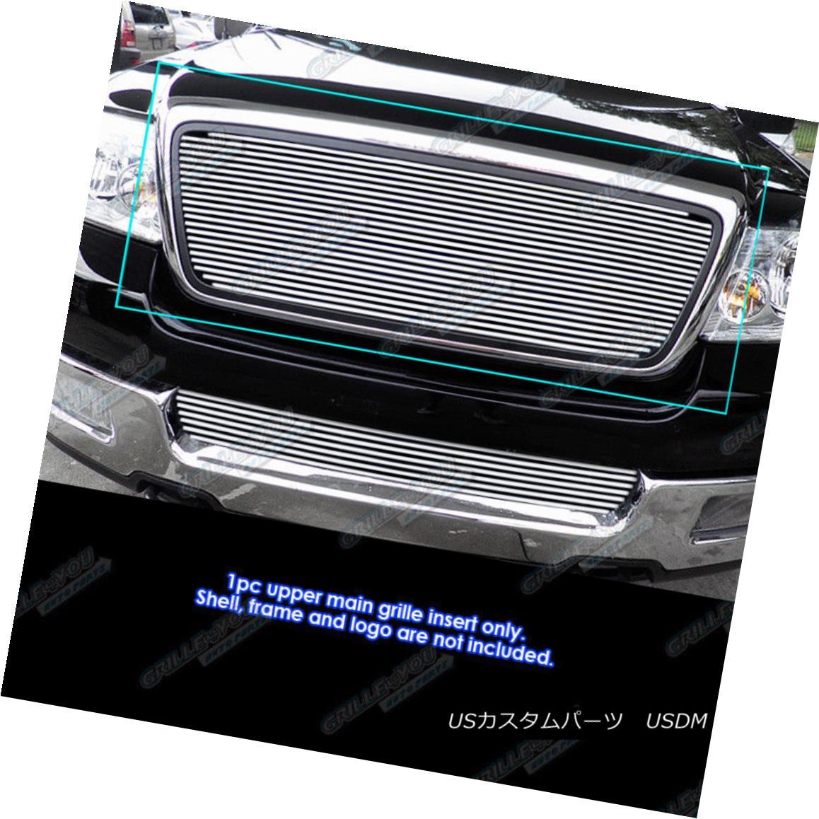 グリル Fits 2004-2008 Ford F-150 Reg Model Phat Billet Grille Grill Insert 2004-2008 Ford F-150 RegモデルPhat Billetグリルグリルインサート
