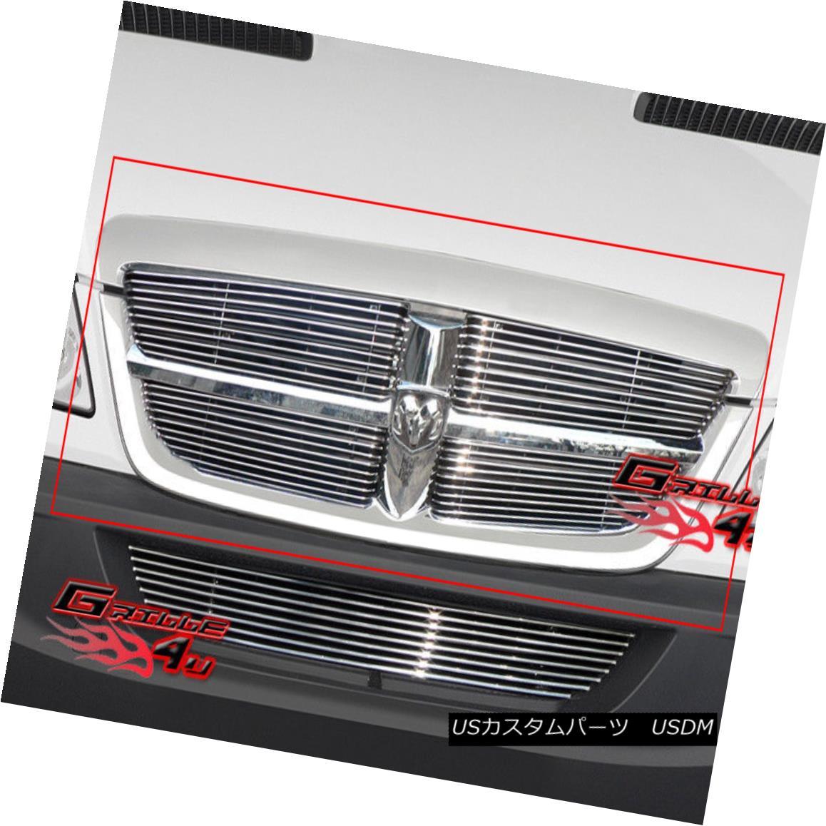 グリル Fits 07-10 Dodge Sprinter Main Upper Billet Grille Insert フィット07-10ダッジスプリンターメインアッパービレットグリルインサート