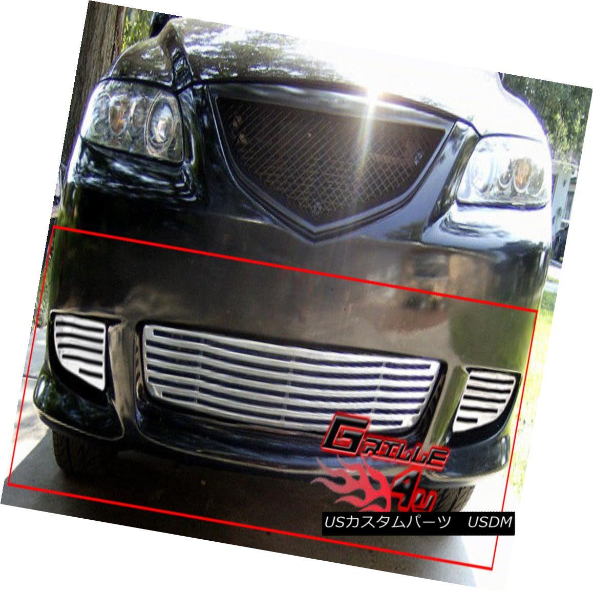 グリル Fits 2004-2005 Mazda 6 Sport Perimeter Grille Insert フィット2004-2005マツダ6スポーツ周辺グリルインサート