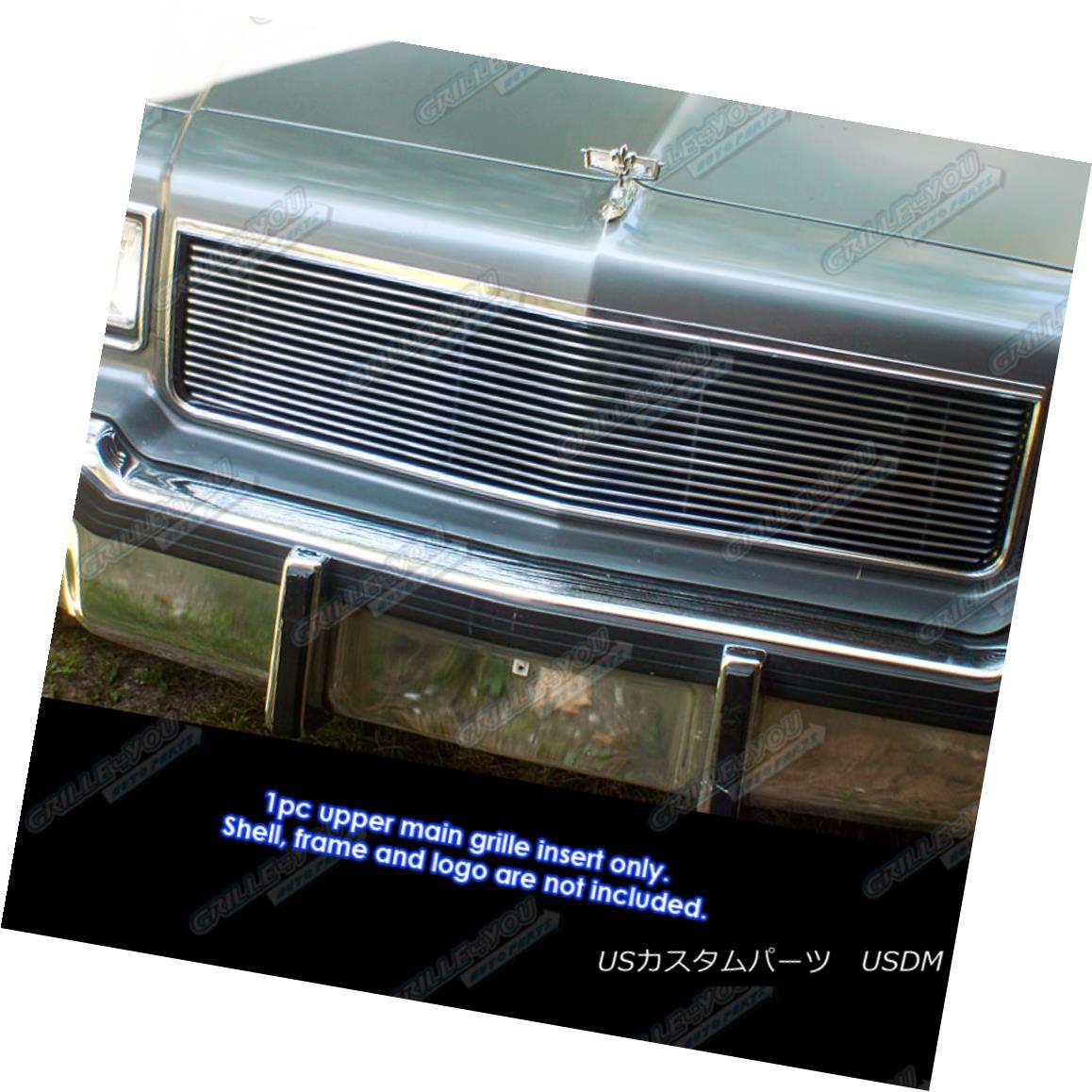 グリル Fits 1986-1990 Chevy Caprice Billet Grille Grill Insert フィット1986-1990シェビーカプリスビレットグリルグリルインサート