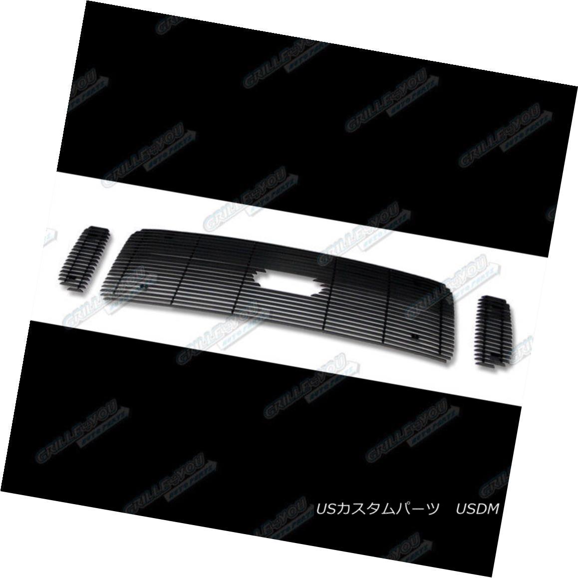 APS Compatible with 1999-2004 Ford F250 F350 Excursion Black Billet Grille N19-H70756F