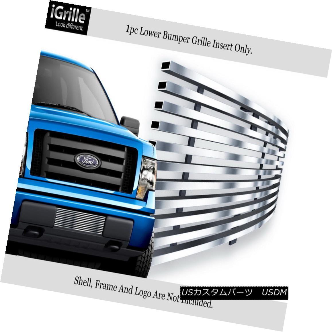 グリル iGrille Stainless Steel Billet Grille Fits 2009-2014 Ford F-150 Bumper iGrilleステンレス鋼のビレットのグリルは2009-2014年に合うFord F-150バンパー