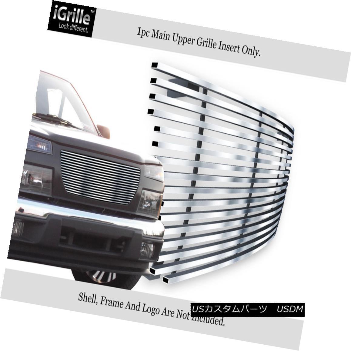 グリル Fits 2004-2012 GMC Canyon Stainless Steel Billet Grille Insert フィット2004年から2012年のGMCキャニオンステンレス鋼ビレットグリルインサート