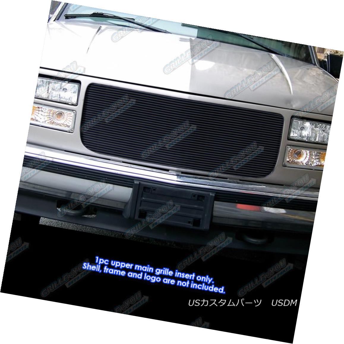 グリル 94-99 GMC C/K Pickup/Suburban/Yukon 31 Bars Black Billet Grille Insert 94-99 GMC C / K Pickup / Suburba n / Yukon 31 Bars Black Billet Grille Insert