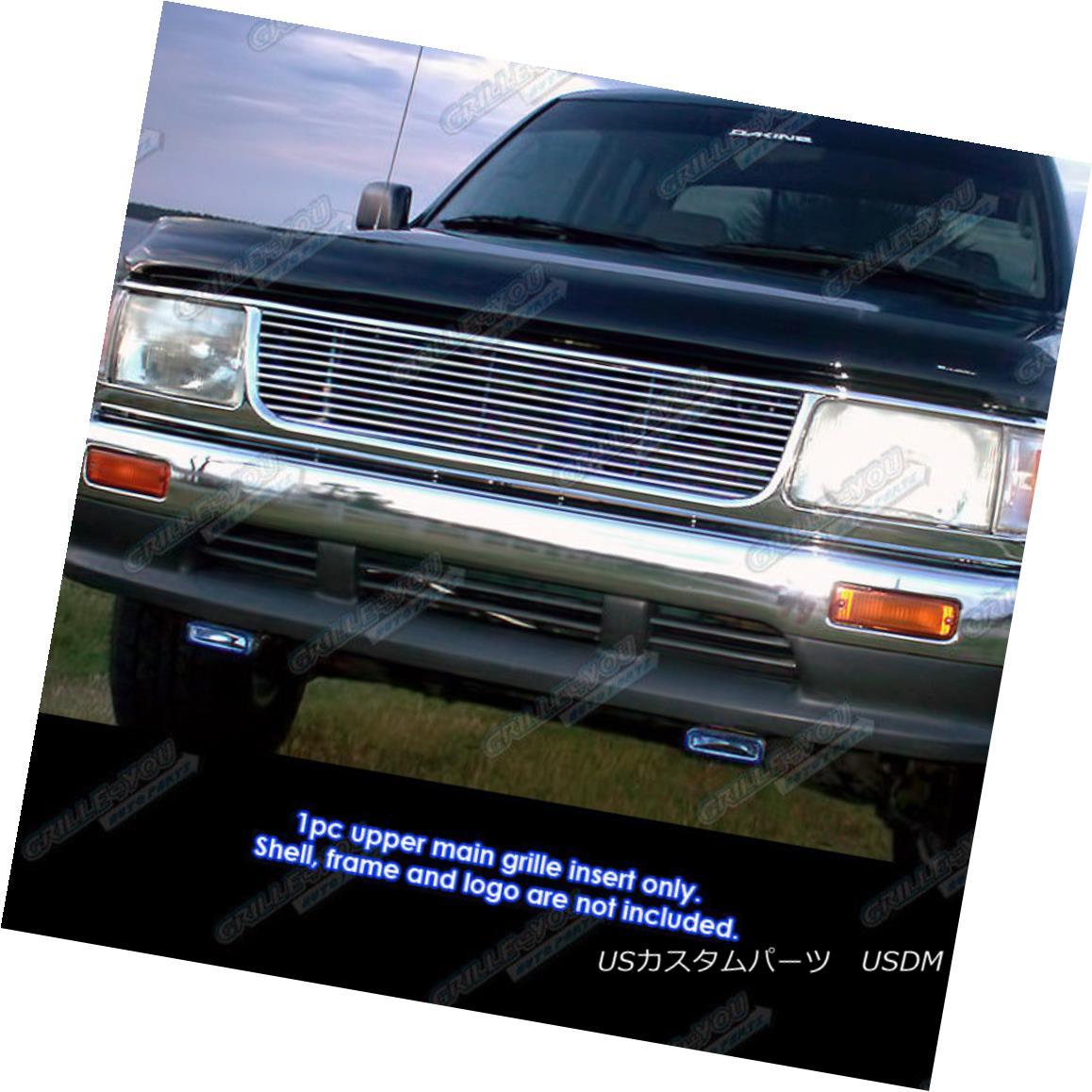 グリル Fits 93-99 Toyota T-100 Main Upper Billet Grille Insert フィッティング93-99トヨタT-100メインアッパービレットグリルインサート