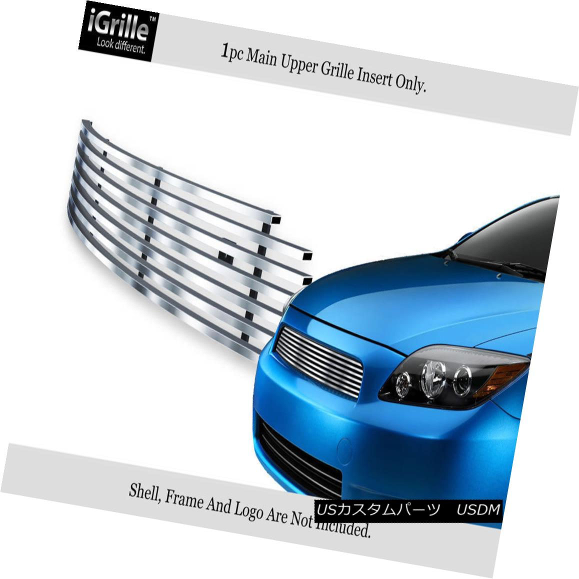 Stainless 2005-2010 Grille Billet Steel Fits TCアッパーステンレス鋼ビレットグリルインサート Upper TC 2005年から2010年のScion グリル Insert Scion