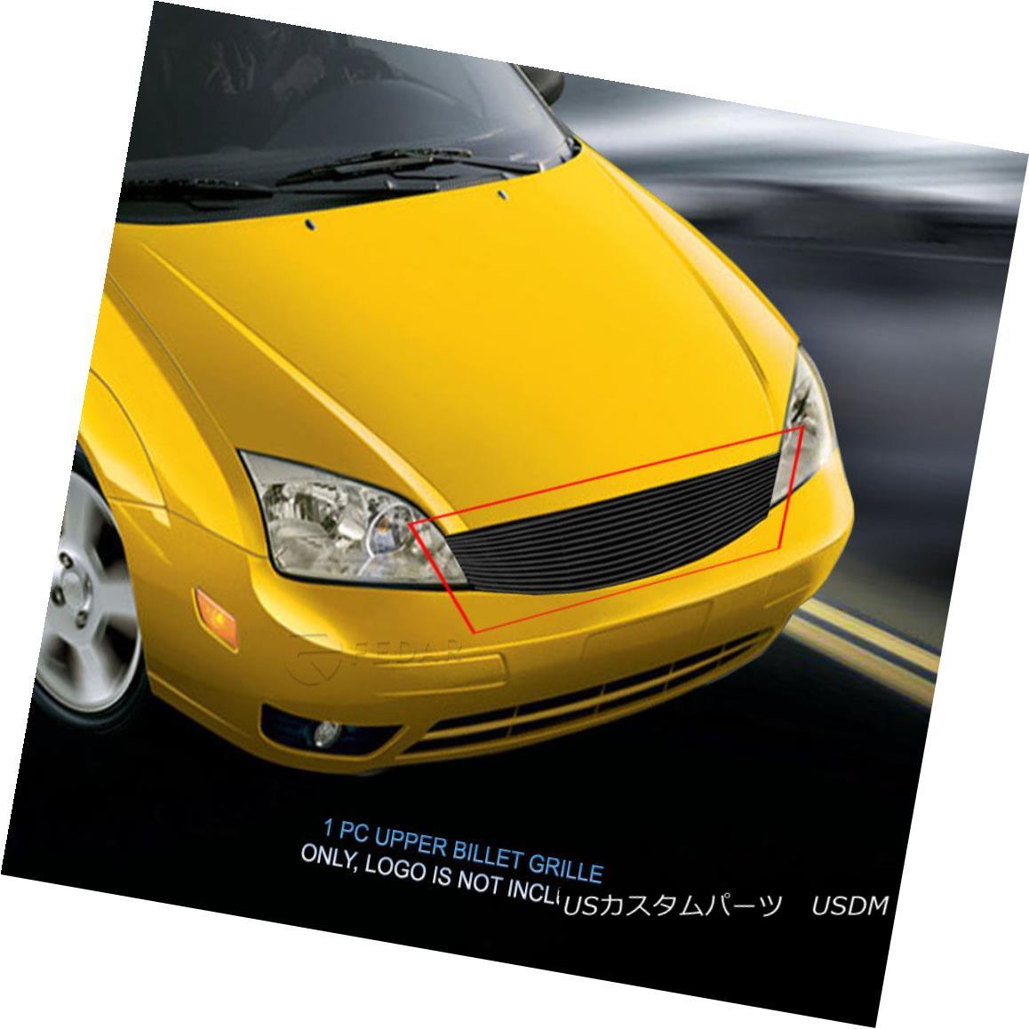 グリル Fedar Fits 2005-2007 Ford Focus Black Billet Grille Insert Fedarは2005-2007 Ford Focus Black Billet Grille Insertに合っています