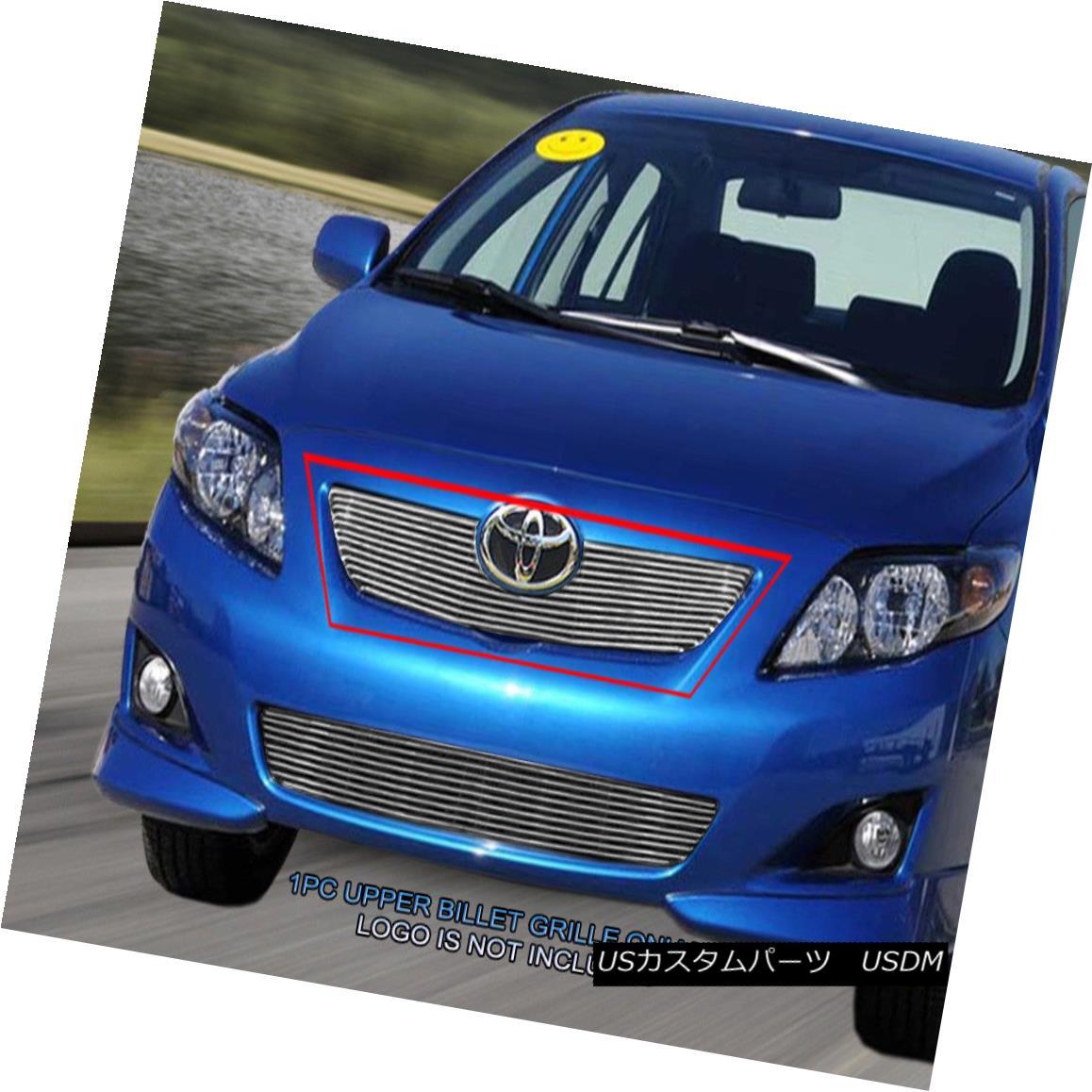 グリル 09-10 Toyota Corolla Billet Grille Grill Upper Insert Fedar 09-10トヨタカローラビレットグリルグリルアッパーインサートフェルダー
