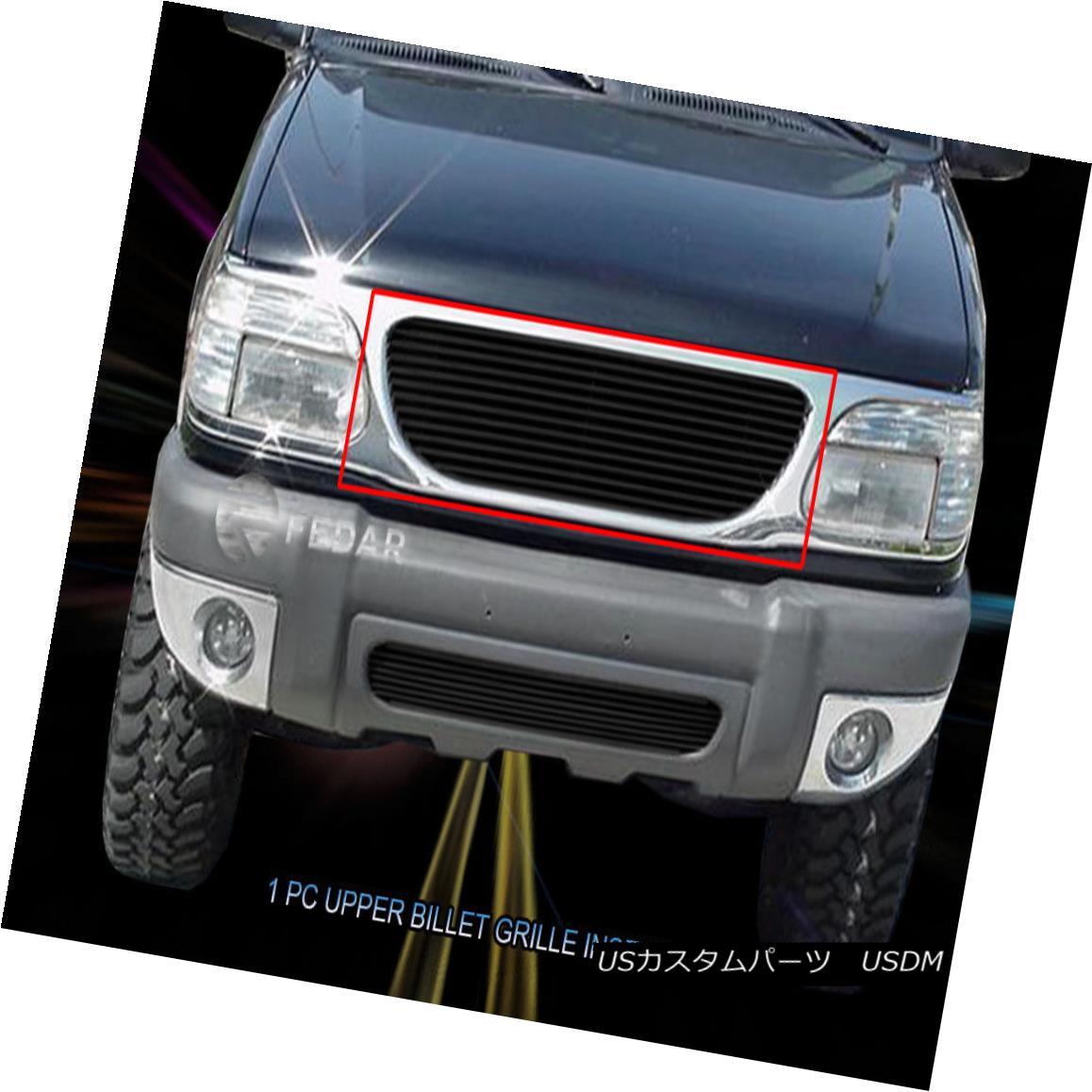 グリル 95-01 Ford Explorer Black Billet Grille Grill Insert Fedar 95-01フォードエクスプローラーブラックビレットグリルグリルインサートフェルダー