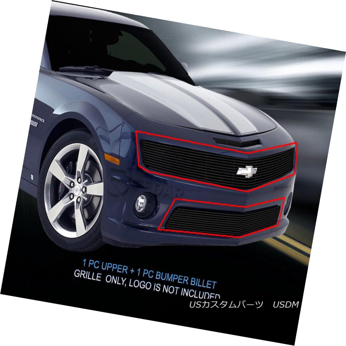 グリル Fedar Fits 2010-2013 Chevy Camaro SS V8 Black Billet Grille Insert Fedarフィット2010-2013シボレーカマロSS V8ブラックビレットグリルインサート
