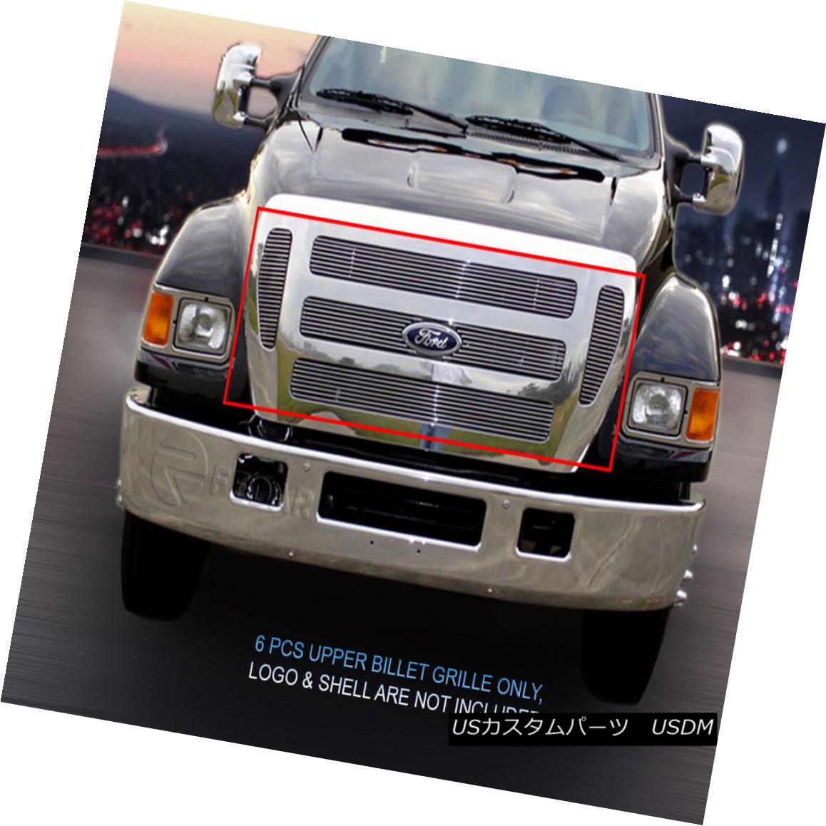 グリル 04-15 Ford F-650 F-750 Billet Grille Grill Insert Fedar 04-15フォードF-650 F-750ビレットグリルグリルインサートフェルダー