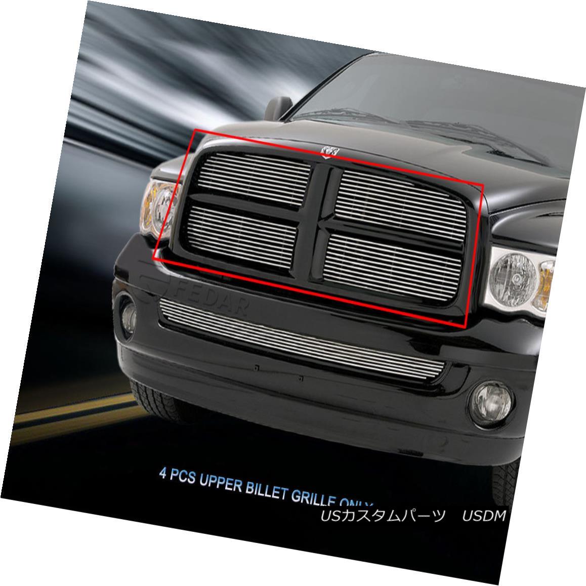 グリル 02-05 Dodge Ram 1500 2500 3500 Billet Grille Grill Insert Fedar 02-05ダッジラム1500 2500 3500ビレットグリルグリルインサートフェルダー