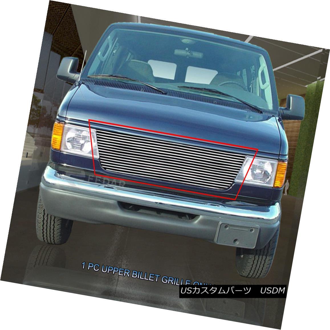 グリル Fits 92-07 Ford E-150 E-250 E-350 Econoline Van Billet Grille Insert  Fedar フィット92?97 Ford E-150 E-250 E-350 Econoline Van Billet Grille Insert Fedar