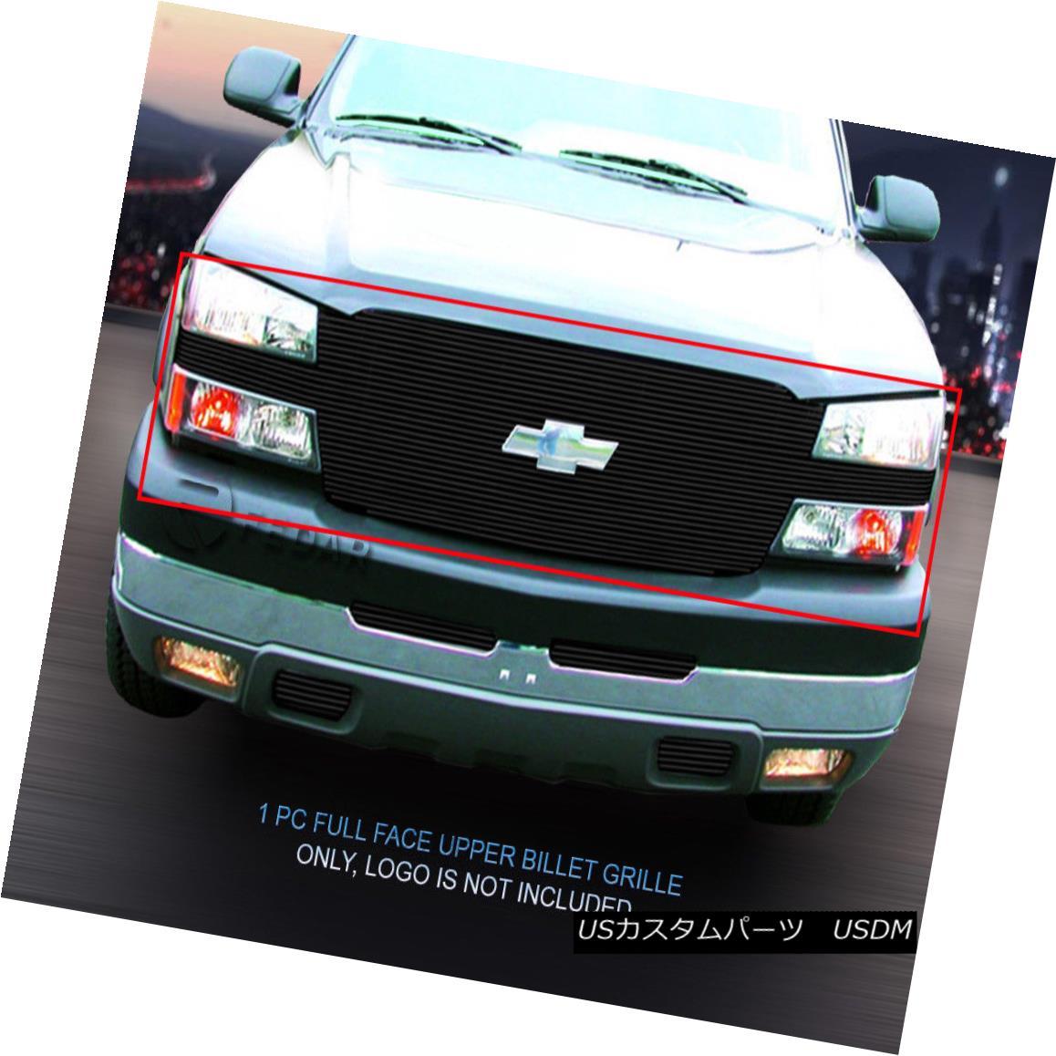 グリル Fedar Fits 03-05 Silverado/03-06 Avalanche Black Main Upper Billet Grille Fedar Fits 03-05 Silverado / 03-0 6アバランシェブラックメインアッパービレットグリル