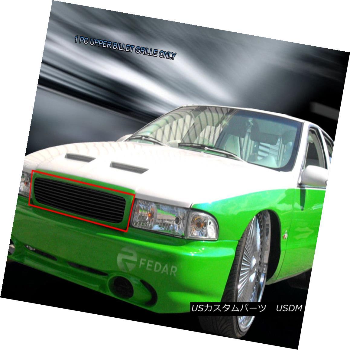グリル 94-96 Chevy Impala SS Black Billet Grille Grill Insert Fedar 94-96シボレーインパラSSブラックビレットグリルグリルインサートフェルダ