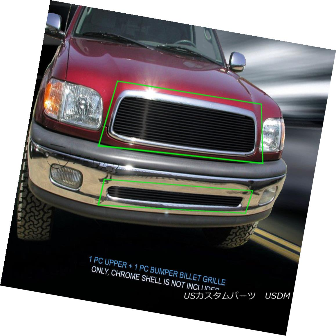 グリル 99-02 Toyota Tundra Black Billet Grille Grill Combo Insert Fedar 99-02トヨタトンドラブラックビレットグリルグリルコンボインサートFedar