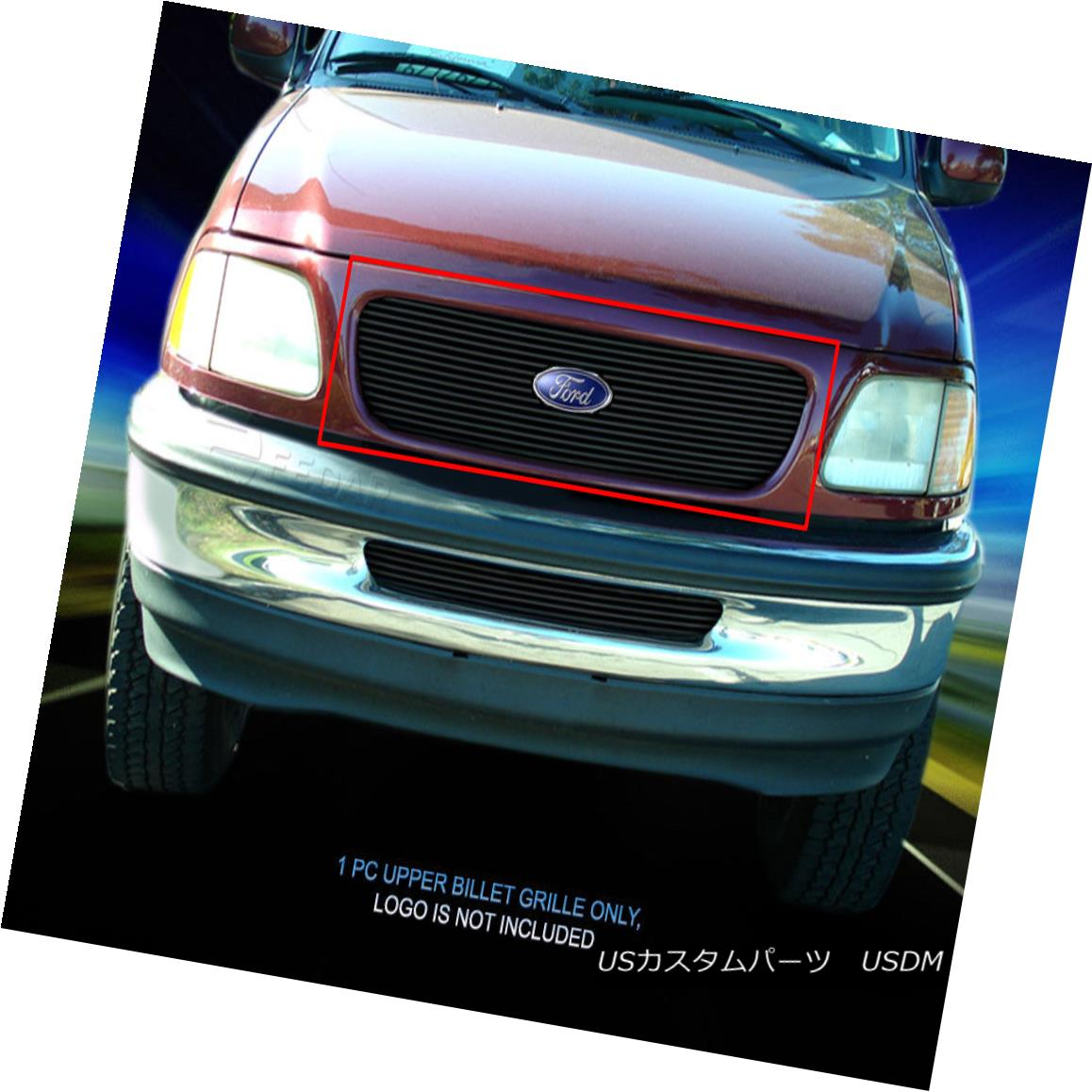 グリル Fedar For 97-98 Ford Expedition Black Billet Grille Upper Insert Fedar Feder For 97-98 Ford ExpeditionブラックビレットグリルアッパーインサートFedar