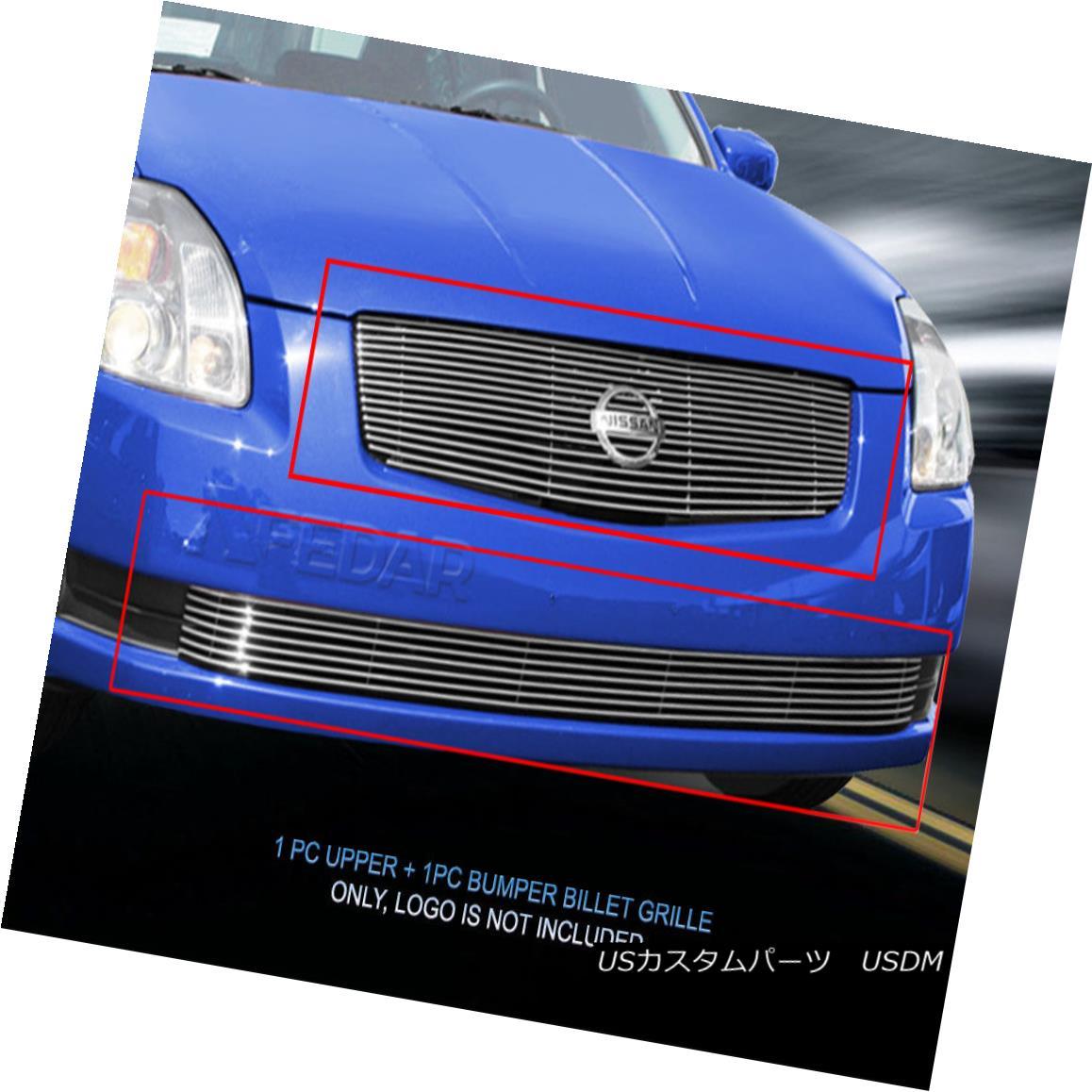 グリル Fits 04 05 06 Nissan Sentra Billet Grille Combo Grill Insert  159 160 Fedar フィット04 05 06日産セントラビレットグリルコンボグリルインサート159 160 Fedar