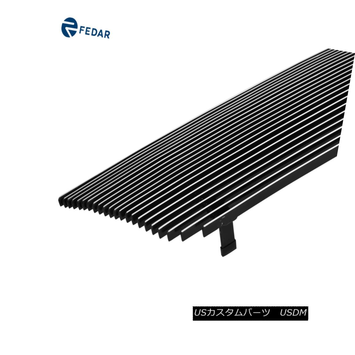 APS Compatible with 2004-2008 Chrysler Crossfire Billet Grille Grill Insert S18-A52568R