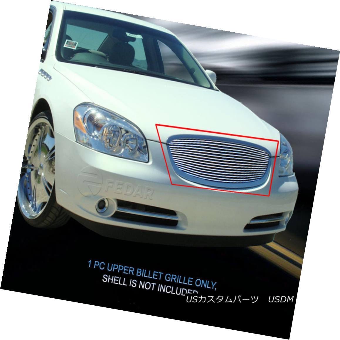グリル Fedar Fits 2006-2009 Buick Lucerne Polished Billet Grille Insert Fedar Fits 2006-2009 Buick Lucerne Polished Billet Grilleインサート