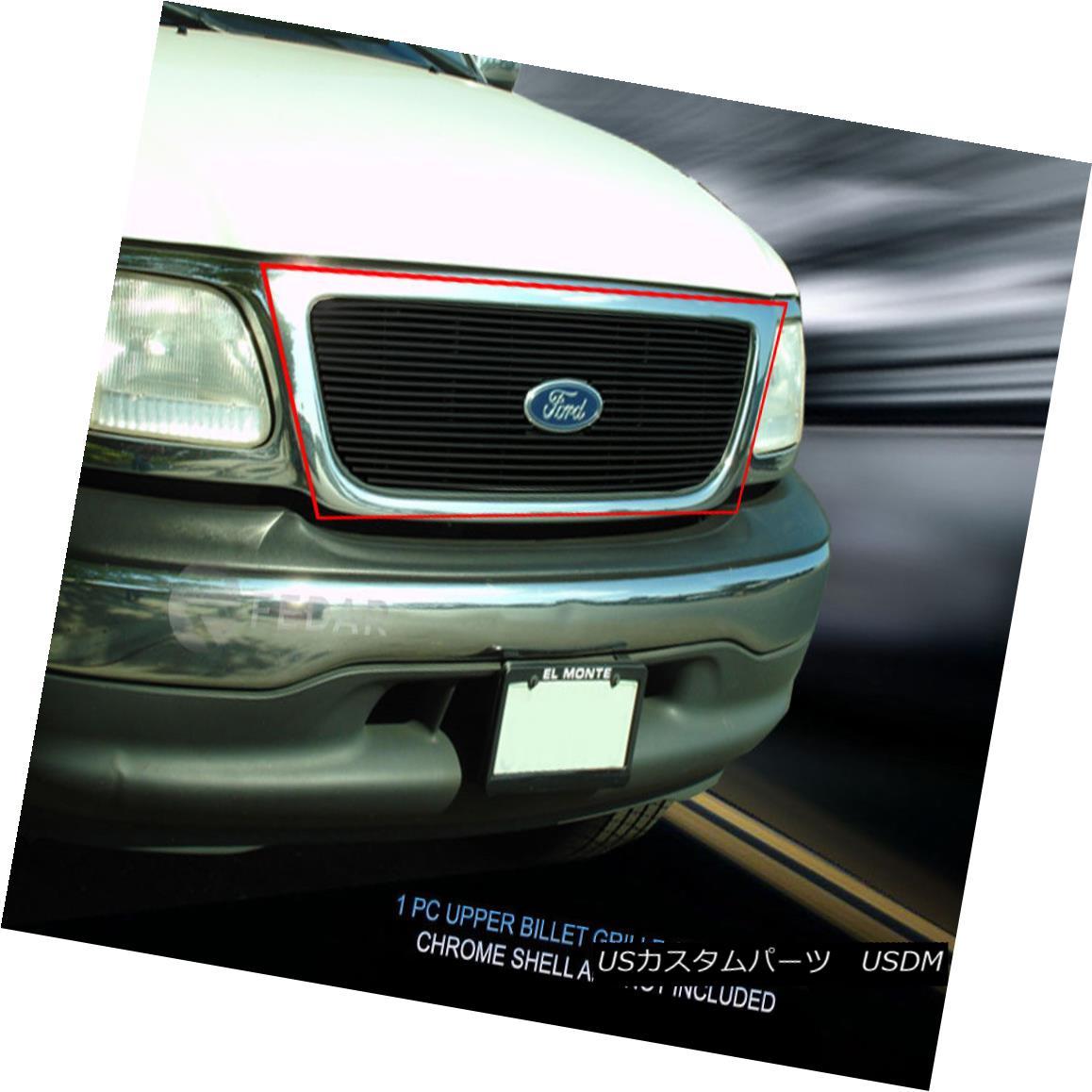 グリル 99-03 Ford F-150 Billet Grille Grill Insert Fedar 99-03フォードF-150ビレットグリルグリルインサートフェルダー