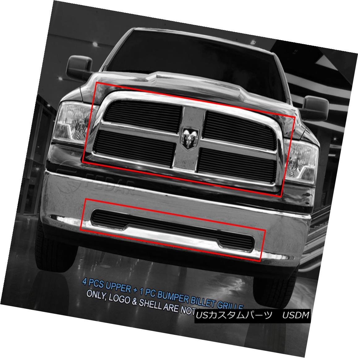 グリル Fedar Fits 09-12 Dodge Ram 1500 PU Billet Grille Combo Insert Fedar Fits 09-12ダッジラム1500 PU Billet Grilleコンボインサート