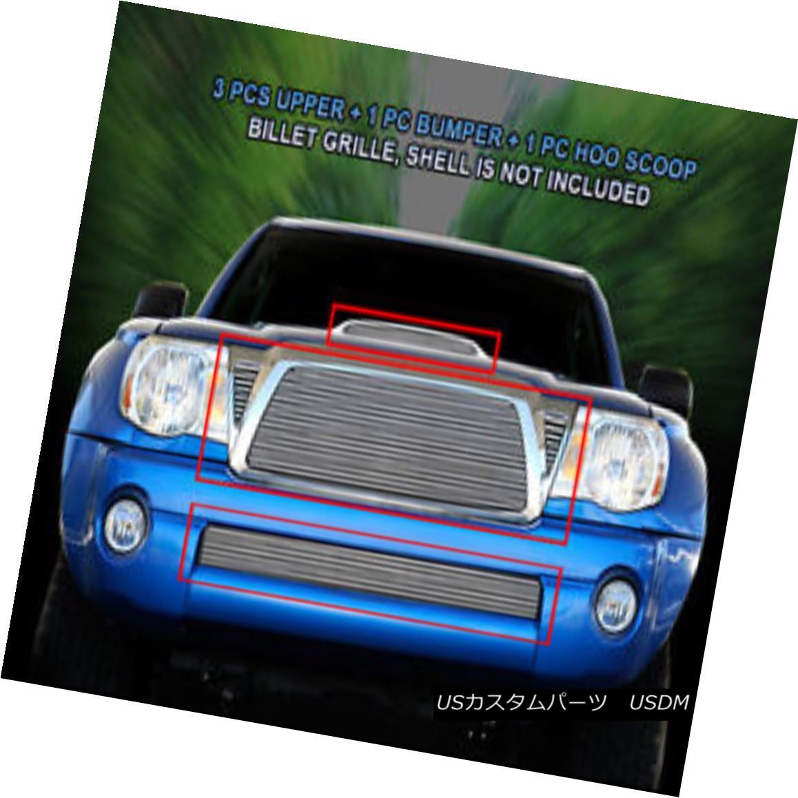 グリル Fedar Fits 05-10 Toyota Tacoma/TRD Sport Combo Polished Billet Grille Fedarフィット05-10トヨタタコマ/ TRDスポーツコンボポリッシュビレットグリル