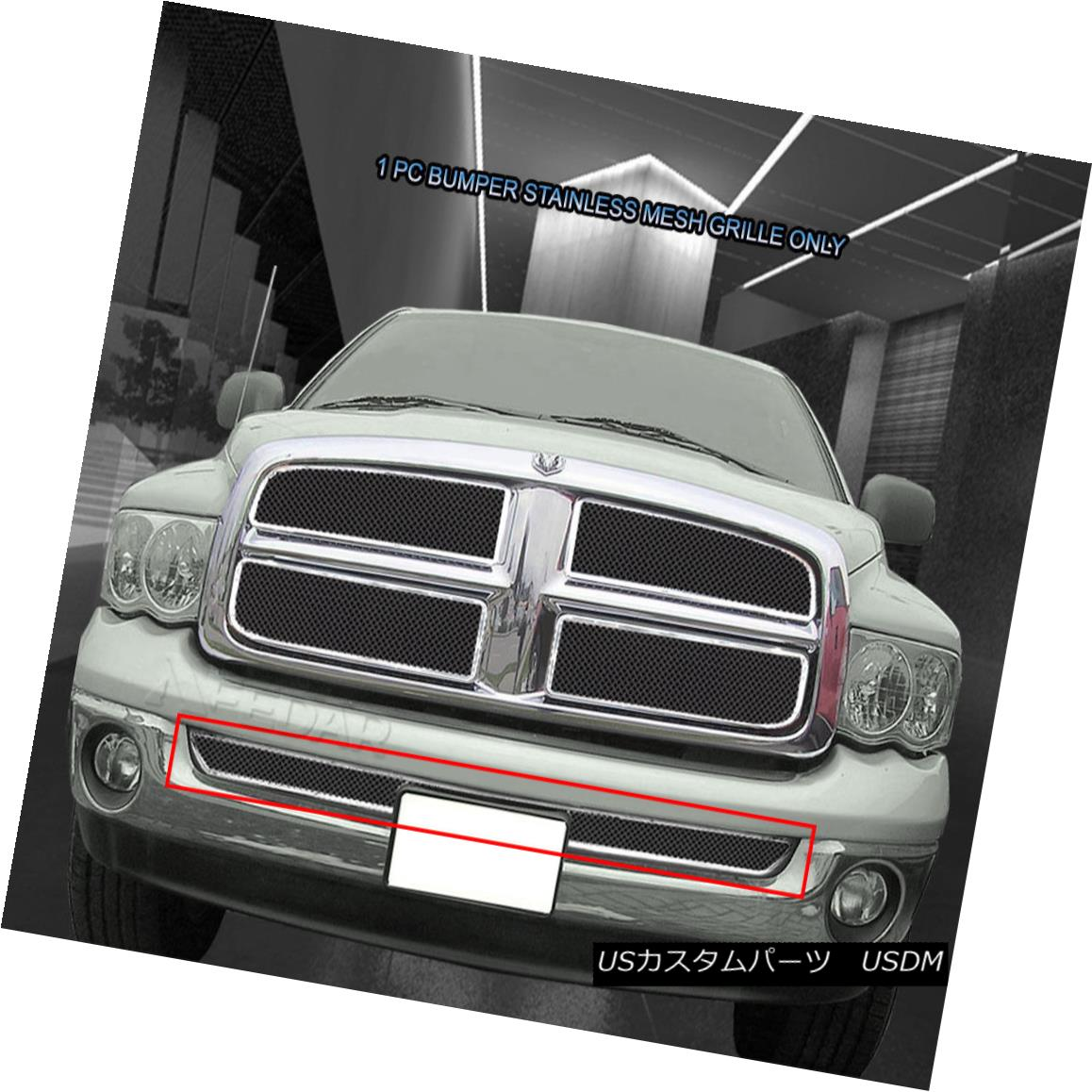 グリル Fedar Fits 02-08 Dodge Ram Mesh Grille Insert Fedar Fits 02-08ダッジ・ラム・メッシュ・グリル・インサート