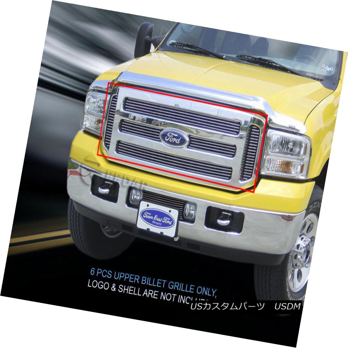 グリル Fits 99-04 Ford F-250 F350 F450 F550 Excursion Billet Grille Grill Insert Fedar フィット99-04 Ford F-250 F350 F450 F550エクスカーションビレットグリルグリルインサートFedar