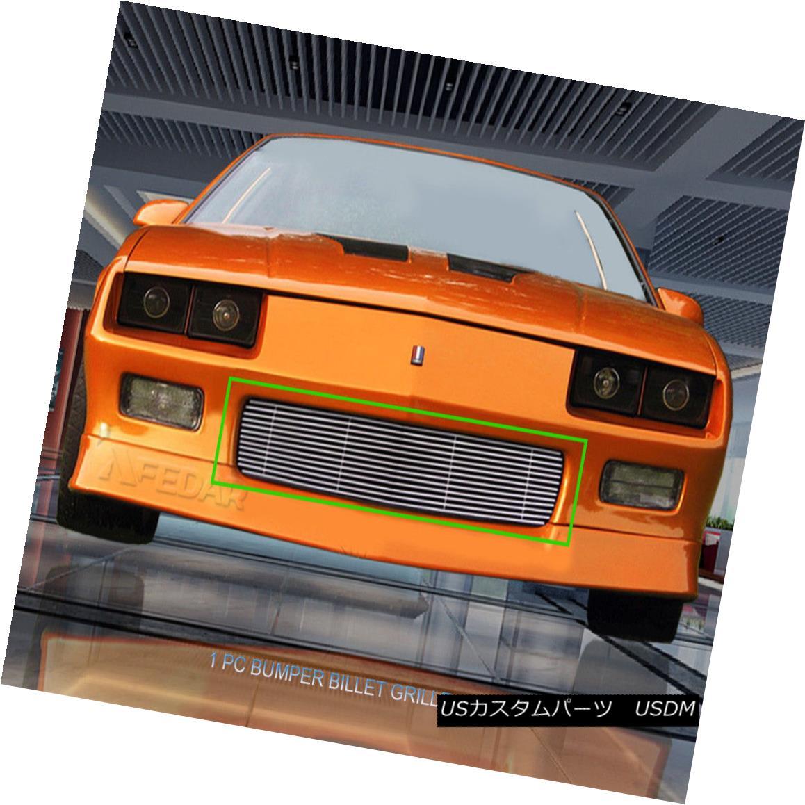 グリル Fits 88-92 Chevy Camaro Billet Grille Grill Insert フィット88-92シボレーカマロビレットグリルグリルインサート
