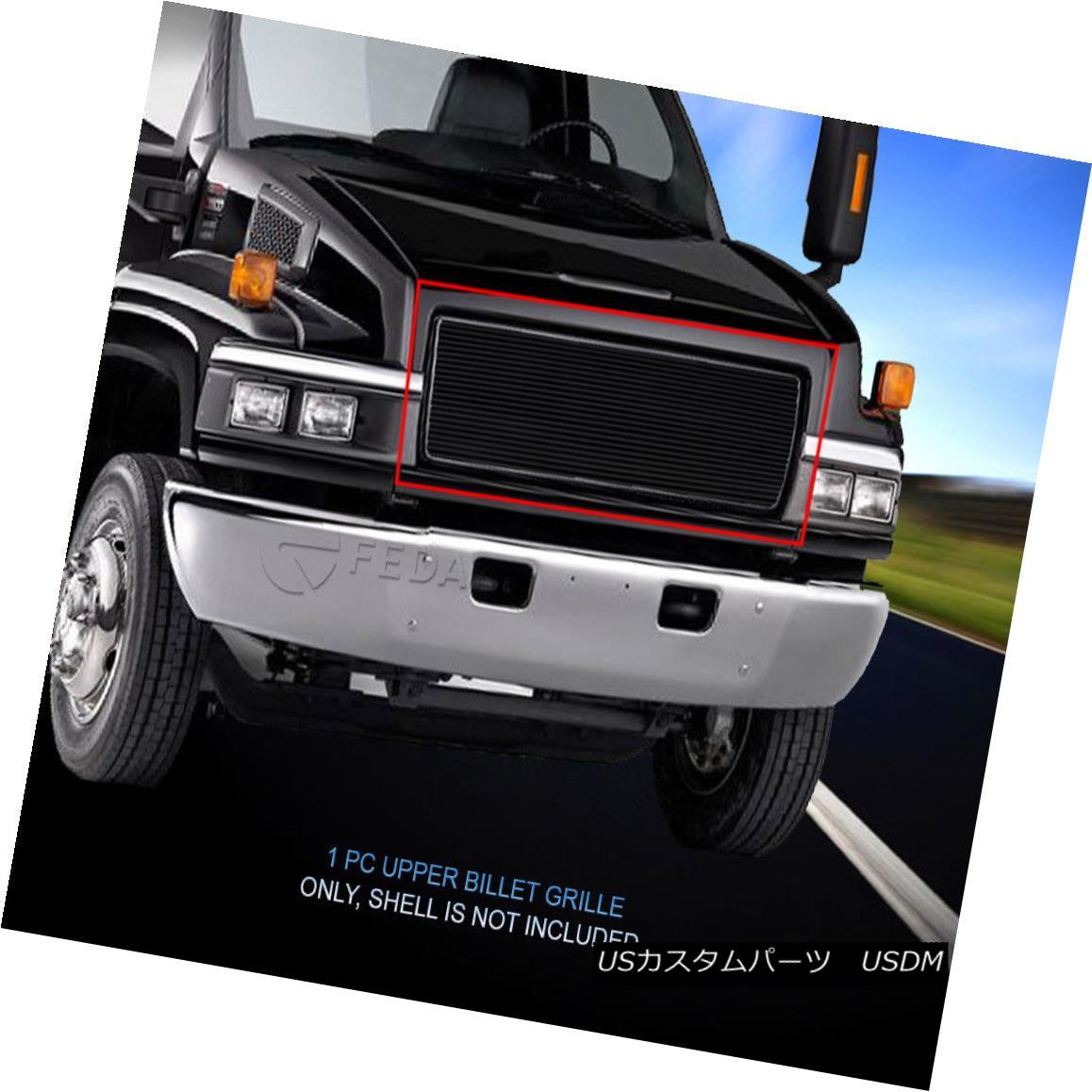 グリル Fedar Fits 03-09 GMC Topkick C4500/C5500/C6500/C7500 Black Upper Billet Grille Feder Fits 03-09 GMC Topkick C4500 / C5500 / C6 500 / C7500 Black Upper Billet Grille