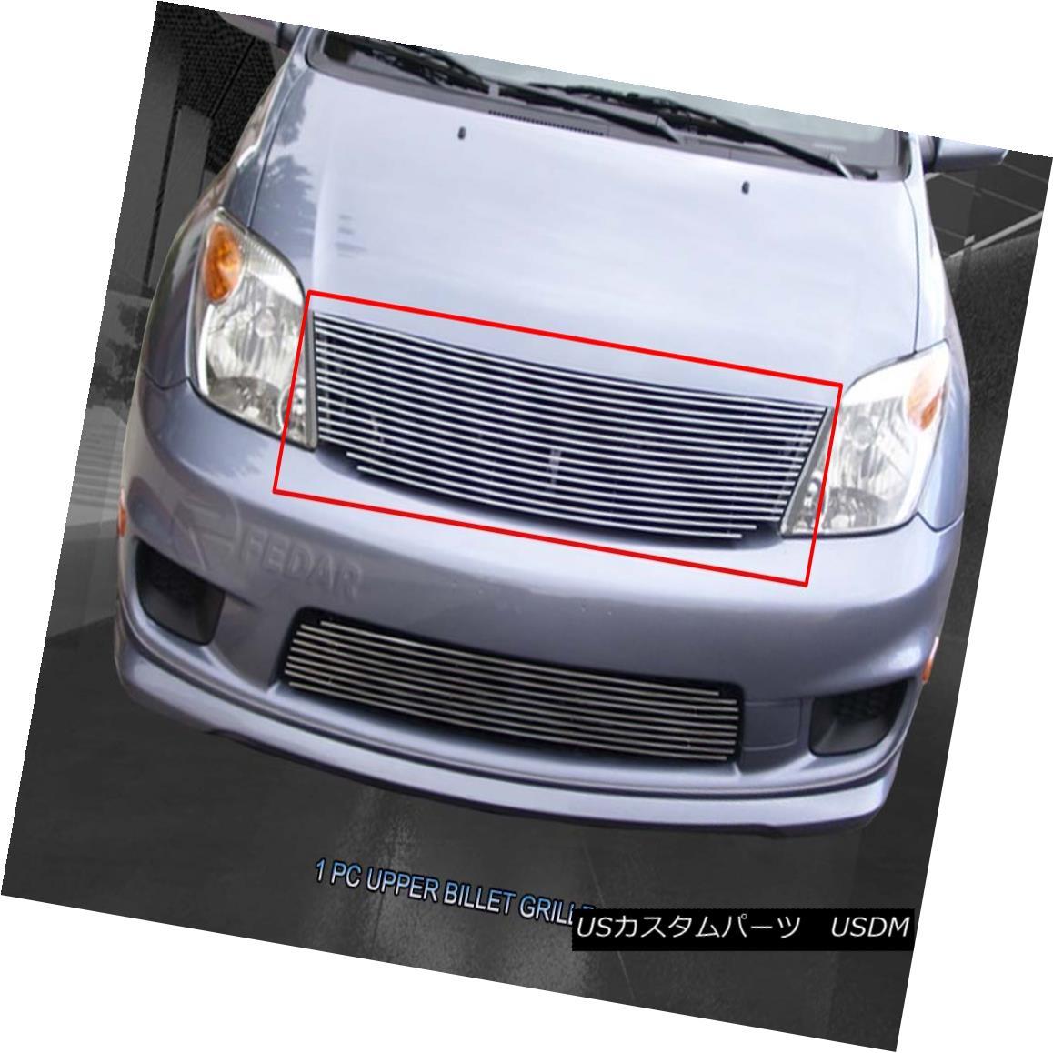グリル For 2003-2007 Scion XA Replacement Billet Grill Upper Grill Insert Fedar 2003-2007シオンXAの交換のためのビレットグリルアッパーグリルインサートFedar