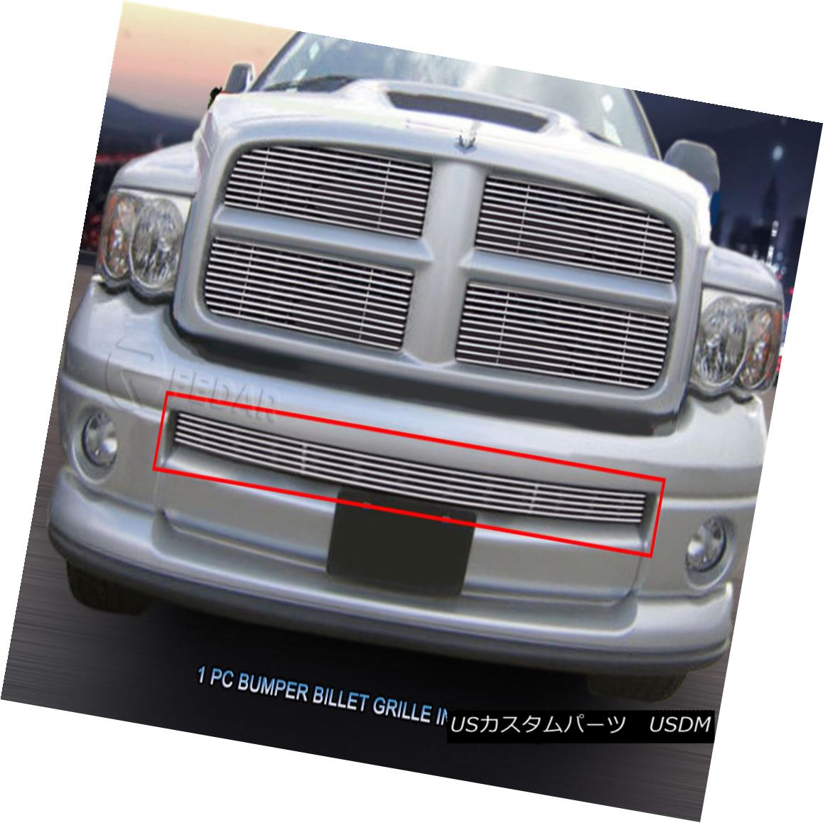 グリル 2002 - 2005 Dodge Ram Sport Polished Billet Grille Lower Bumper Inserts Fedar 2002 - 2005 Dodge Ram SportポリッシュドビレットグリルロワーバンパーインサートFedar