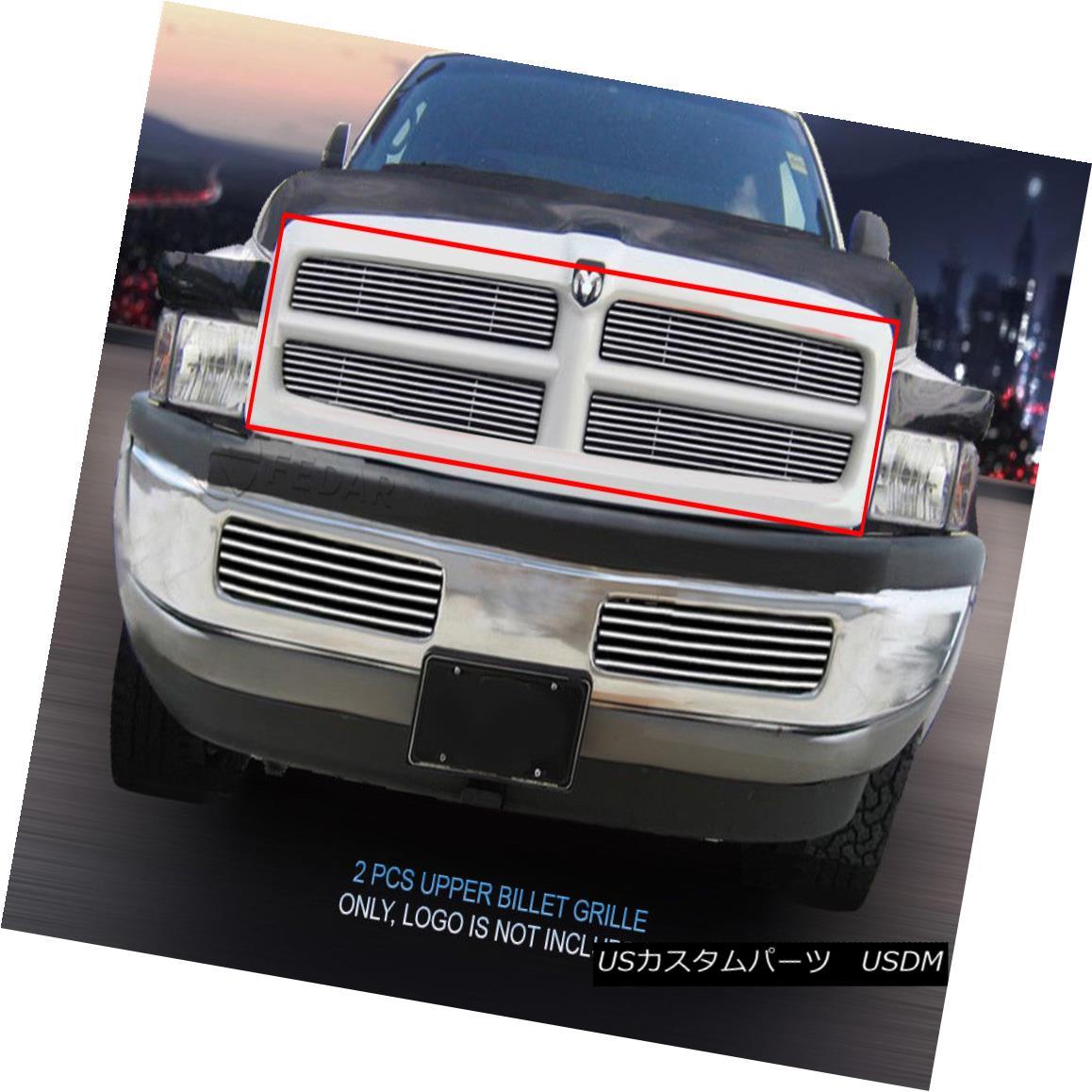 グリル Fits 1994-2001 Dodge Ram Billet Grille Grill Insert 1994-2001 Dodge Ram Billetグリルグリルインサートに適合