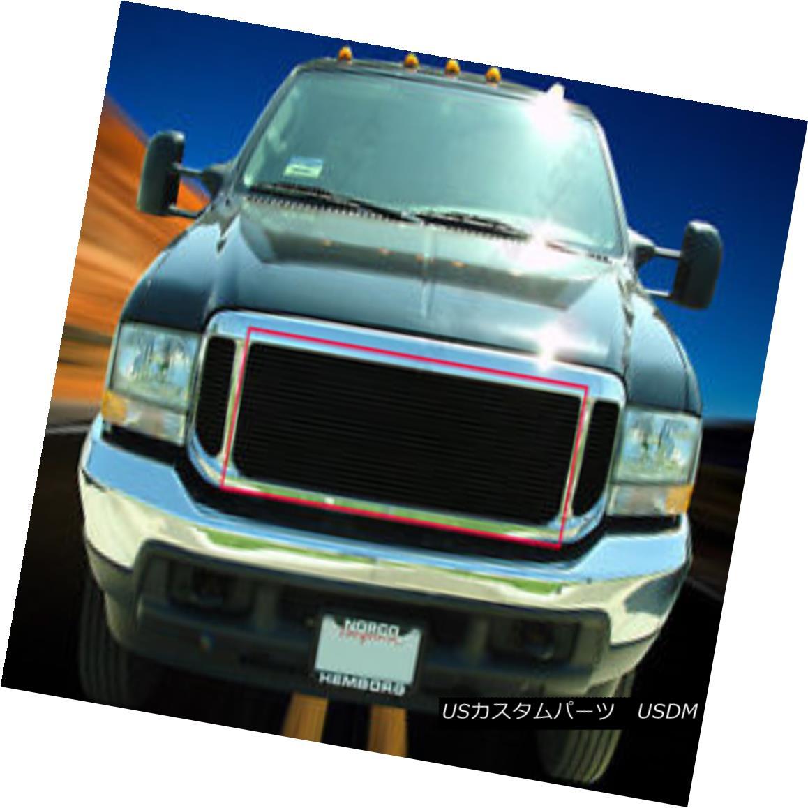 グリル Fedar Fits 99-04 Ford Excursion F250 F350 F450 F550 Billet Grille Upper Grill Feder Fits 99-04 FordエクスカーションF250 F350 F450 F550 Billet Grilleアッパーグリル