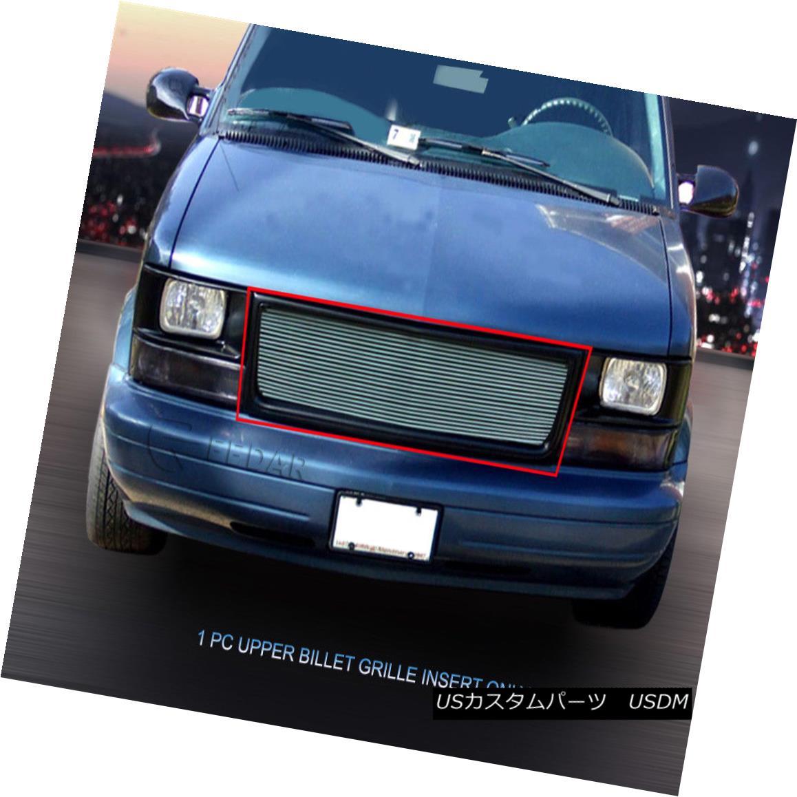 グリル Fits 1995 - 2005 GMC Safari Van Billet Grille Main Upper Grill Insert Fedar フィット1995年 - 2005年GMCサファリヴァンビレットグリルメインアッパーグリルインサートFedar