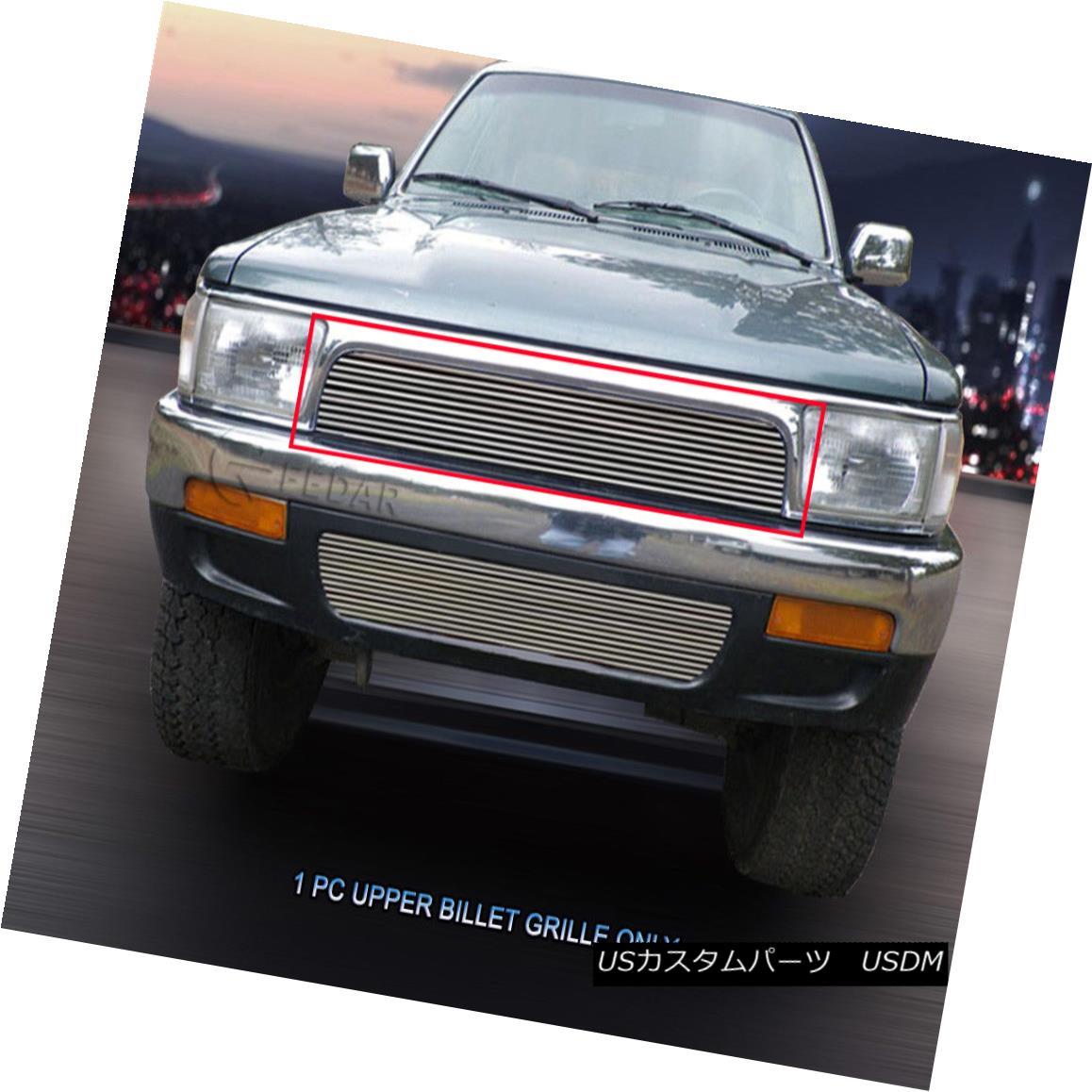 グリル For 1992-1995 Toyota 4Runner Replacement Billet Grille Upper Grill Insert Fedar 1992-1995 Toyota 4Runner ReplacementビレットグリルアッパーグリルインサートFedar