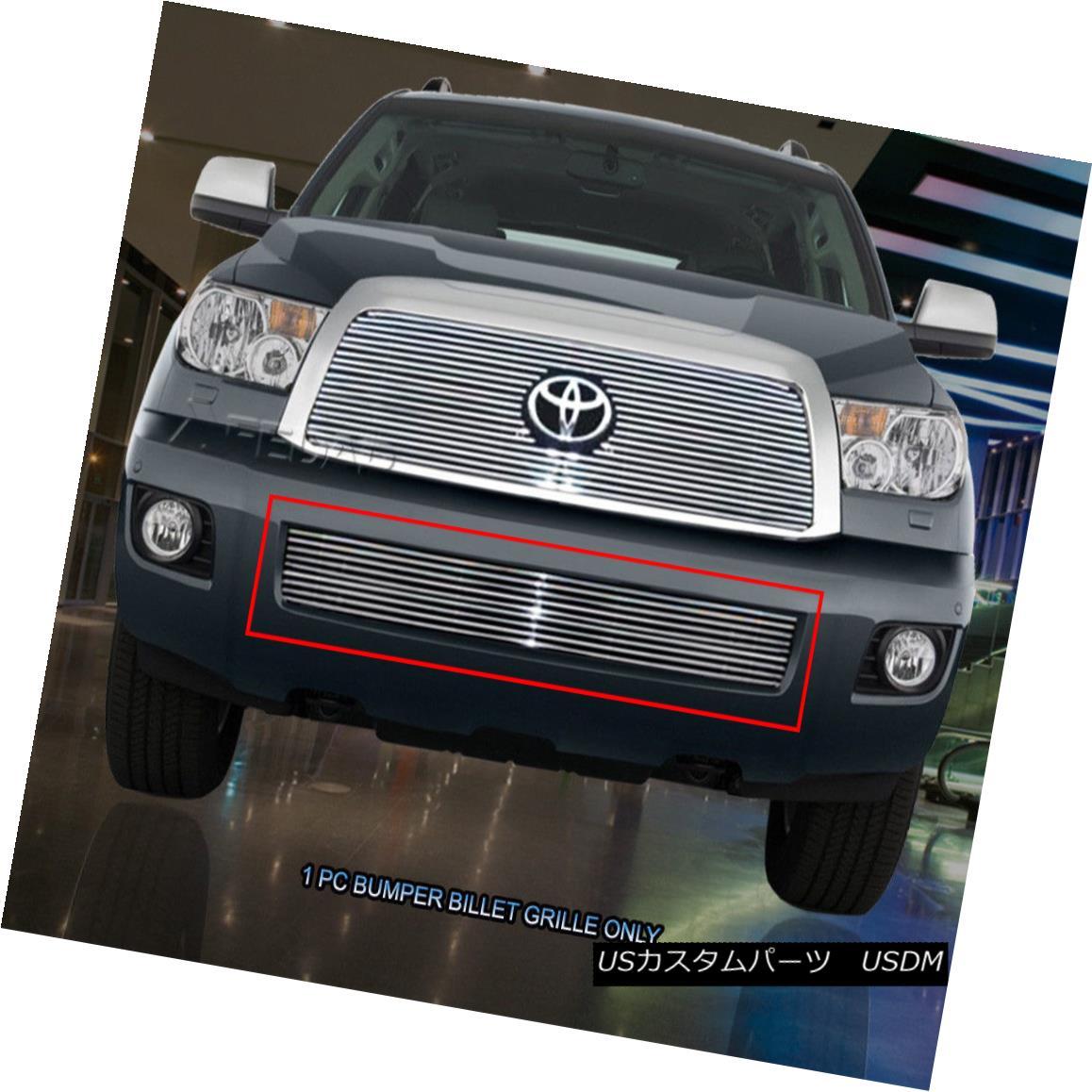 グリル 08-13 Toyota Sequoia Billet Grille Grill Bumper Insert Fedar 08-13トヨタセコイアビレットグリルグリルバンパーインサートフェルダ