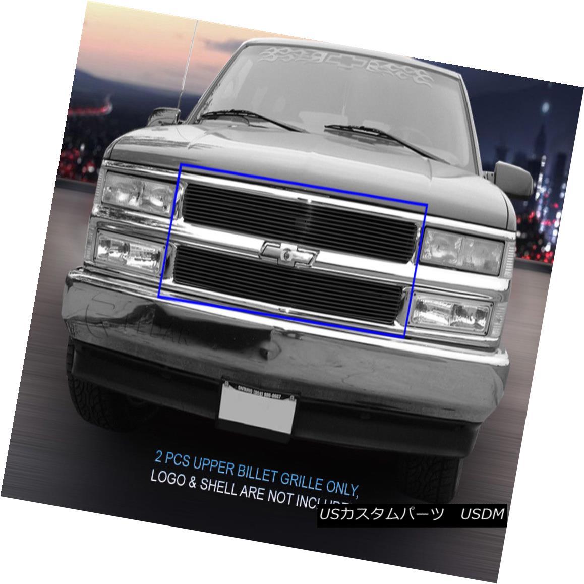 グリル 94-99 Chevy Blazer C/K Pickup Tahoe Suburban Black Billet Grille Insert Fedar 94-99シボレー・ブレーザC / Kピックアップ・タホ郊外ブラック・ビレット・グリル・インサート・フェルダ