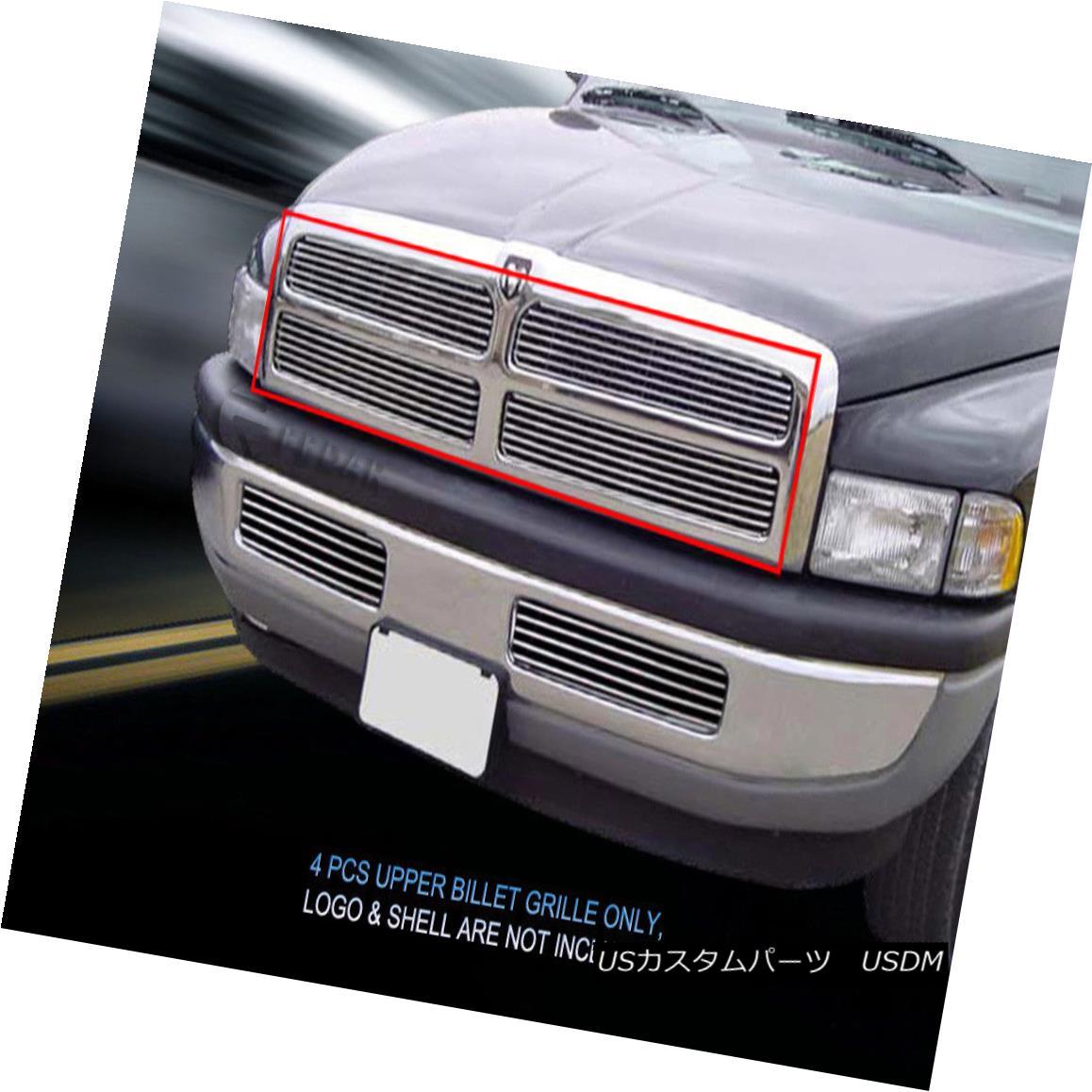 グリル 94-01 Dodge Ram Pickup Truck Billet Grille Grill Fedar 94-01ダッジ・ラム・ピックアップ・トラックビレット・グリル・グリル・フェルダー