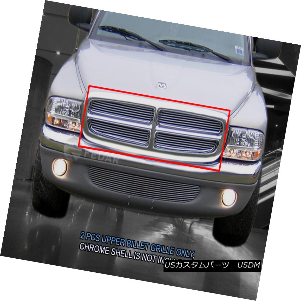 グリル 97-03 Dodge Durango 97-04 Dakota Billet Grille Grill Insert Fedar 97-03 Dodge Durango 97-04 Dakota BilletグリルグリルインサートFedar