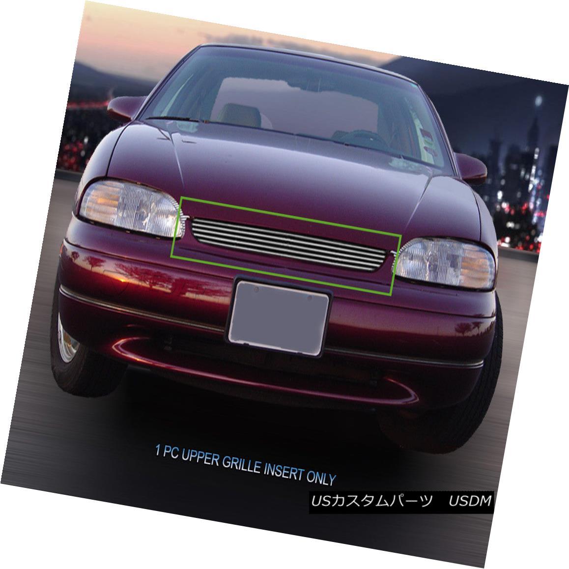 グリル Fits 1995-1999 Chevrolet Monte Carlo Aluminum Billet Grille Insert Fedar フィット1995-1999シボレーモンテカルロアルミビレットグリルインサートFedar