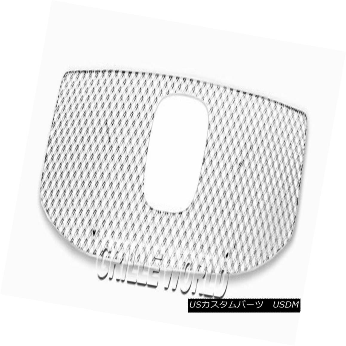 グリル For 2012-2015 Honda Pilot Stainless Steel Double Wire X Mesh Blitz Grille 2012-2015ホンダパイロットステンレススチールダブルワイヤーXメッシュブリッツグリル