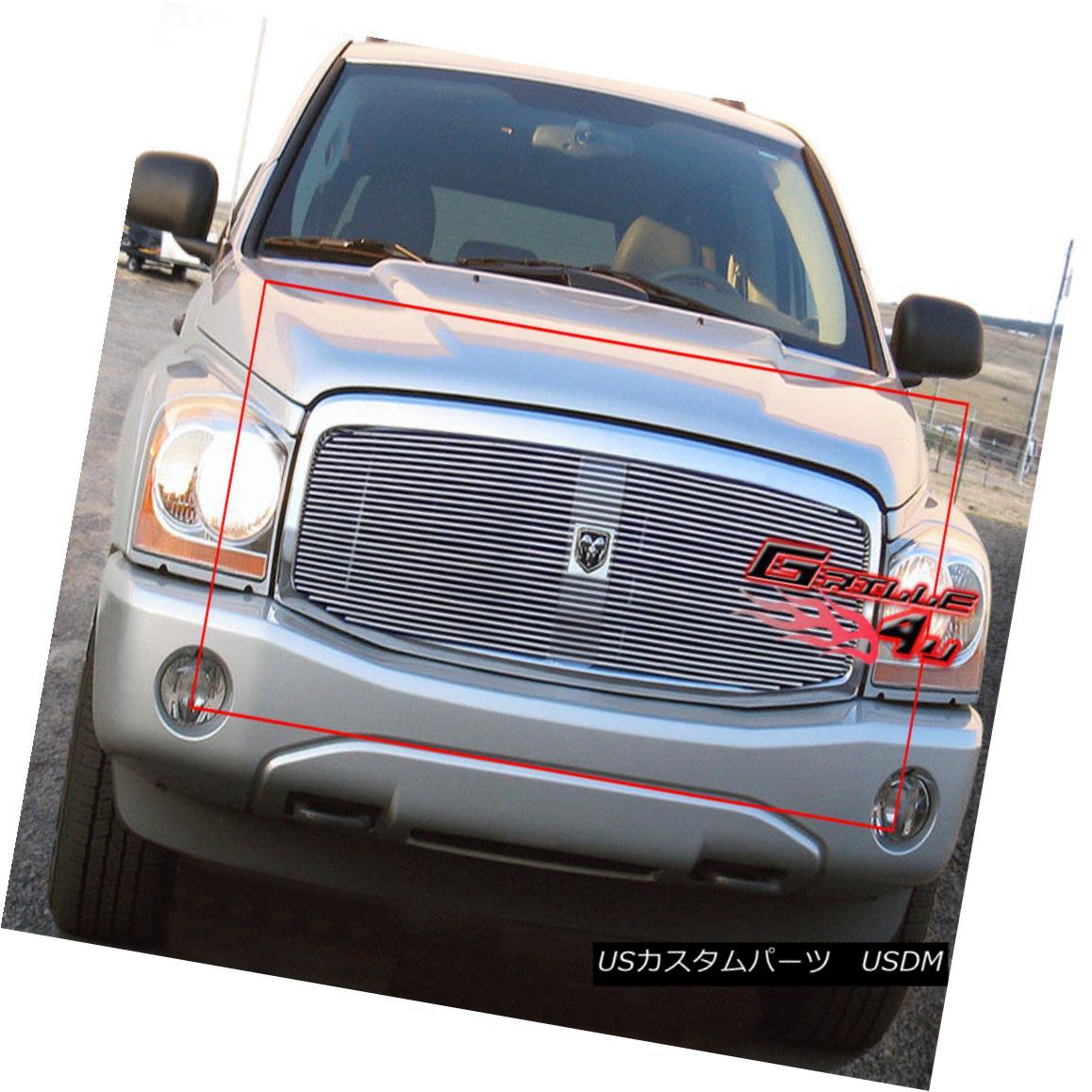 グリル For 04-06 Dodge Durango Billet Grille Insert 04-06 Dodge Durangoビレットグリルインサート