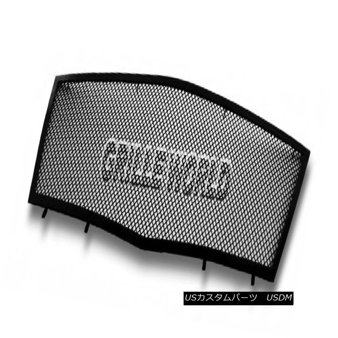 グリル For 2008-2011 Cadillac CTS Black Stainless Steel Mesh Premium Grille Grill 2008年から2011年のキャデラックCTSブラックステンレスメッシュプレミアムグリルグリル