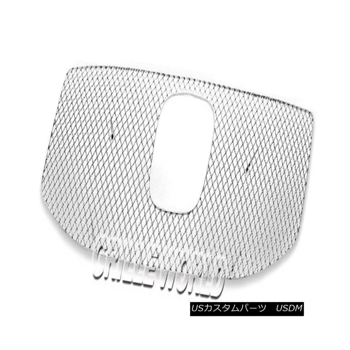 グリル For 2012-2015 Honda Pilot Stainless Steel Wire X Mesh Blitz Grille 2012-2015ホンダパイロットステンレス鋼線Xメッシュブリッツグリル
