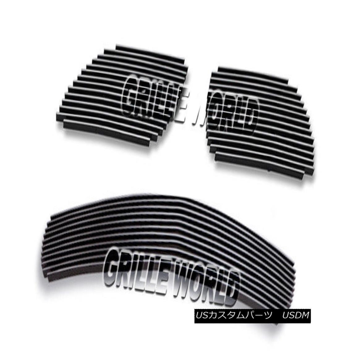 グリル For 04-06 Pontiac GTO Billet Premium Grille Grill Combo Insert 04-06ポンティアックGTOビレットプレミアムグリルグリルコンボインサート