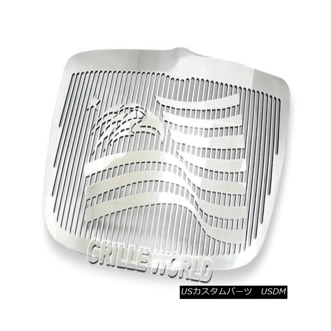 グリル Customized For 05-10 Chrysler 300/300C Symbolic Premium Grille Insert 05-10クライスラー300 / 300Cシンボリックプレミアムグリルインサート用にカスタマイズ